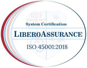 ISO 45001 2018 LIBERO ASSURANCE MARK