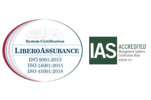 ISO 9001 2015 14001 2015 45001 2018 LIBERO ASSURANCE MARK_IAS